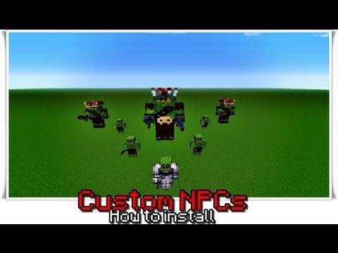 Custom Npcs - Installation Guide - Noppes' minecraft mods